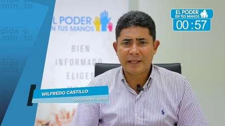 Elecciones 2018: Wilfredo Castillo expuso sus propuestas en turismo, salud y actividades ilícitas