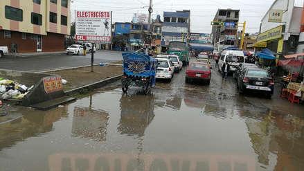 Lluvia de moderada intensidad en Trujillo