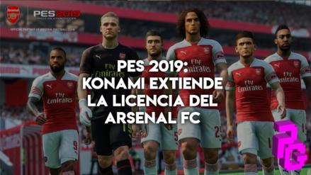 PES 2019 | Konami extiende la licencia del Arsenal FC