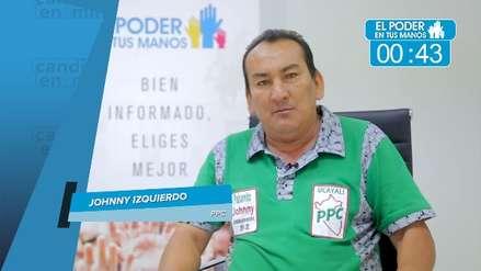 Elecciones 2018: Johnny Izquierdo expuso sus propuestas en turismo, salud y actividades ilícitas