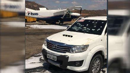 Cinco delincuentes abatidos en intento de asalto a una avioneta en aeropuerto de Brasil