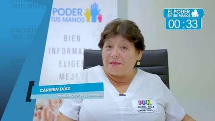 Elecciones 2018: Carmen Díaz Soria expuso sus propuestas en seguridad ciudadana, obras y gestión de desperdicios