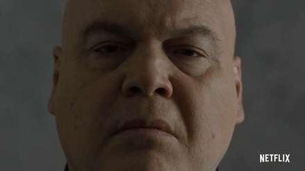 """""""Daredevil"""": Wilson Fisk reaparece en el nuevo avance de la tercera temporada"""