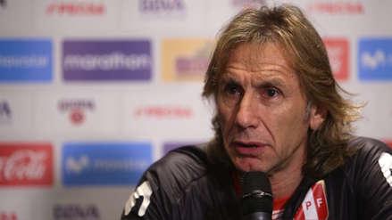 Ricardo Gareca anunciará este viernes los convocados para enfrentar a Chile y EE.UU.
