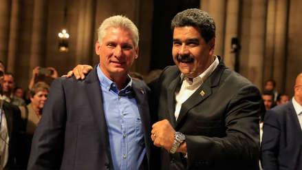 Maduro y el presidente de Cuba en EE.UU.: