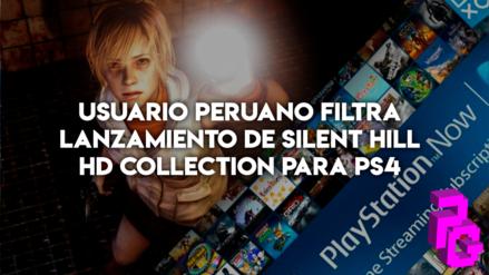 Usuario peruano filtra lanzamiento de Silent Hill HD Collection para PS4