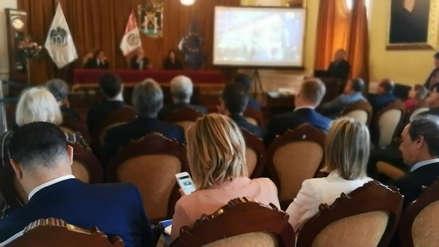 Embajadores de la Unión Europea se interesan en seguridad de Trujillo