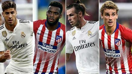 Los 5 jugadores más caros de Real Madrid y Atlético de Madrid