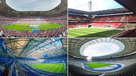 Las mejores imágenes de los 10 estadios de la Eurocopa Alemania 2024