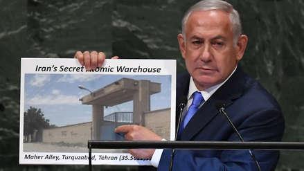 El primer ministro de Israel acusó a Irán de tener un