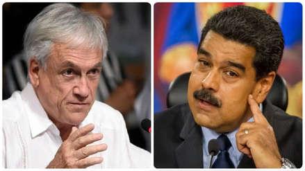 """Piñera rechaza opción militar para Venezuela: """"Uno sabe cómo comienzan, pero no como terminan"""""""