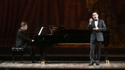 Juan Diego Flórez conquistó Buenos Aires a ritmo de tango, vals y huarango