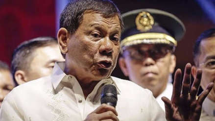 """El presidente de Filipinas admitió que su gobierno realiza """"ejecuciones extrajudiciales"""""""