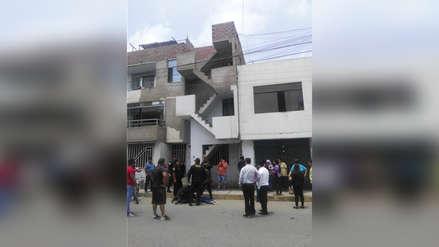 Mujer muere al caer del tercer piso de su vivienda en Trujillo