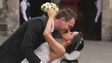 ¿La boda del año? 40 fotos del matrimonio de Vanessa Terkes y George Forsyth que así lo demuestran