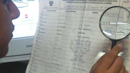 Podemos Perú habría presentado firmas falsificadas de políticos y futbolistas para su inscripción