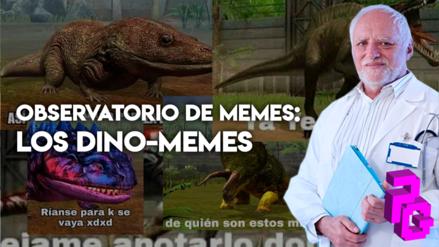 Observatorio de memes | Los dino-memes