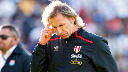 Ricardo Gareca muy enojado: