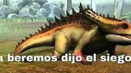 Observatorio De Memes Los Dino Memes Rpp Noticias El gran grupo de dinosaurios carnívoros se encuentra en los terópodos, un grupo de dinosaurios saurisquios (con cadera similar a lagarto) de locomoción bípeda. observatorio de memes los dino memes