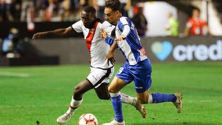 Rayo Vallecano con Luis Advíncula igualó 2-2 ante Espanyol por la Liga de España