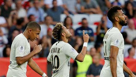 PSG con doblete de Neymar goleó al Niza y sigue invicto en la Ligue 1