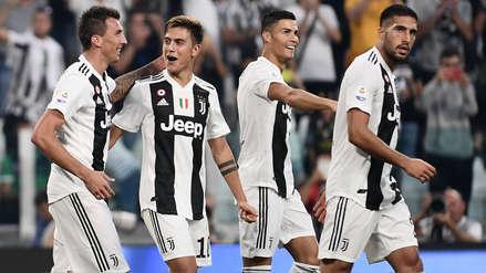 Juventus derrotó al Napoli con gran actuación de Cristiano Ronaldo