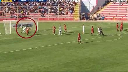 Kevin Sandoval de cabeza abrió el marcador en el Universitario vs. Ayacucho FC