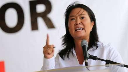 Keiko Fujimori niega tener