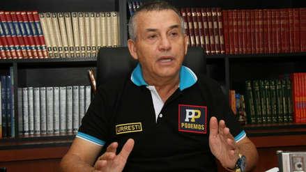 Urresti dice que ha recibido ataques de Jorge Muñoz pero que lo felicita por haber subido en encuestas