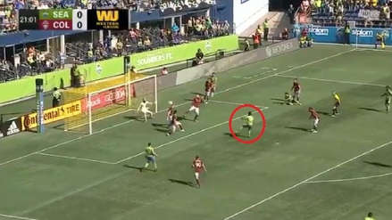 Raúl Ruidíaz se lució con golazo ante Tim Howard en la MLS