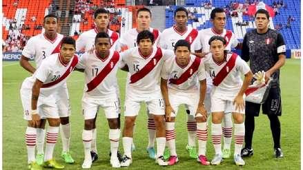 Los jugadores de la sub 20 de Ahmed que integran la Selección Peruana