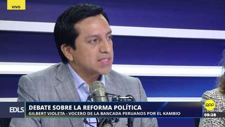 """Violeta: """"Las instituciones democráticas pueden reformarse sin golpes de Estado"""""""
