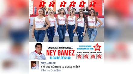Critican utilización de mujeres en propaganda electoral de Ney Gámez