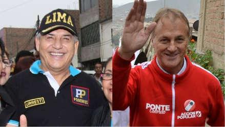 Datum:Urresti lidera y Muñoz salta al segundo lugar en las preferencias en Lima