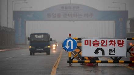 Las dos Coreas comienzan a retirar minas de la frontera tras acuerdo militar