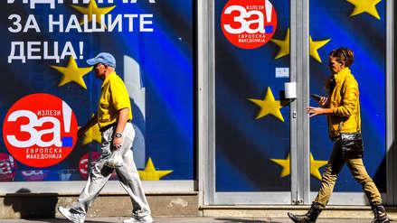¿Por qué Macedonia decidirá este domingo en un referéndum si cambia de nombre?