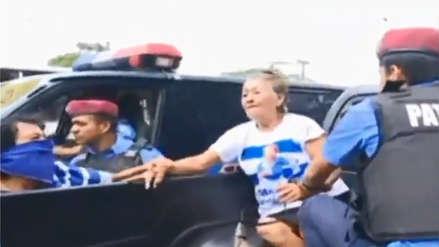 Policía arrestó a anciana que pidió el cese de las muertes en protestas de Nicaragua