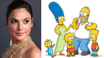 """""""Los Simpson"""": Gal Gadot es la estrella invitada del nuevo episodio [VIDEO]"""
