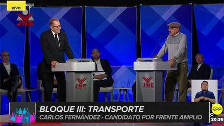 Enrique Fernández a Ricardo Belmont: