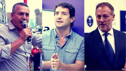 CPI: Urresti, Reggiardo y Muñoz lideran las preferencias en Lima en simulacro de voto