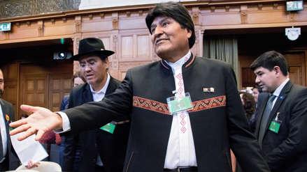Evo Morales tras fallo de La Haya: