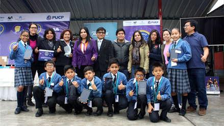 Escolares de San Juan de Lurigancho obtuvieron primer lugar en Olimpiadas de Matemáticas