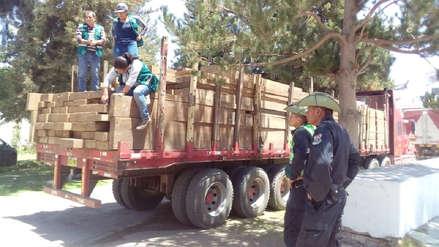 Arequipa: Incautan madera ilegal valorizada en 59 mil soles