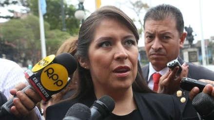 Vilcatoma dijo que informe de Pacori sobre Hinostroza está mal hecho y que el Pleno lo corregirá