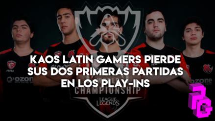 Worlds 2018 - League of Legends | Sudamericanos Kaos Latin Gamers pierden sus dos primeras partidas en los play-ins