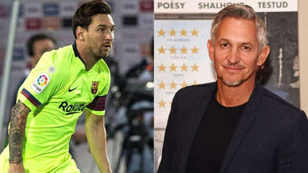 """Gary Lineker elogió a Messi antes del Barcelona vs. Tottenham: """"No es humano"""""""