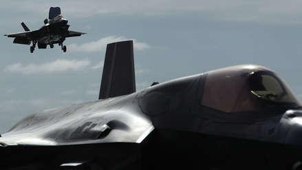 """El F-35B, la """"joya"""" de la aviación de EE.UU., debuta en combate en Afganistán con un accidente"""