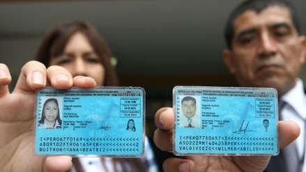 El Reniec prorrogó la validez de los DNI caducos para las elecciones regionales y municipales