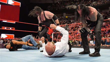 Enfrentamiento de infarto: The Undertaker y Kane vs. Triple H y Shawn Michaels