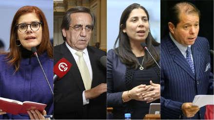 Las reacciones políticas del enfrentamiento entre Vizcarra y Chávarry